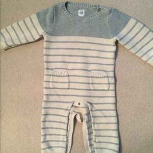 Baby boy onsie sweater outfit